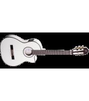 Elektroakustiline klassikaline kitarr Ortega RCE145WH