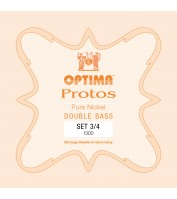 OPTIMA Protos Double Bass Set 3/4 Solo tuning