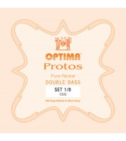 OPTIMA Protos Double Bass Set 1/8 Solo tuning