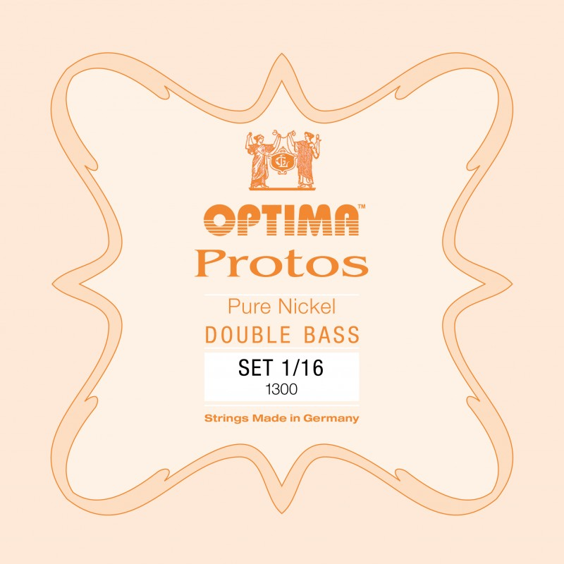 OPTIMA Protos Double Bass Set 1/16 Solo tuning