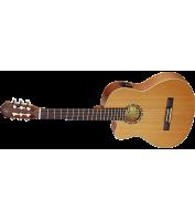 Vasakukäeline elektroakustiline kitarr Ortega RCE131L