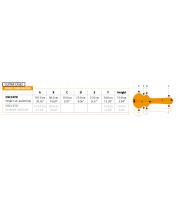 ORTEGA Case OSCCSTD for E-Guitar Single Cut style