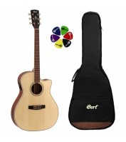 Elektoakustiline kitarr Cort GA-MEDX-OP-WBAG koos kotiga
