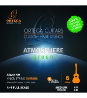 Nylon guitar string set Ortega ATG44NM