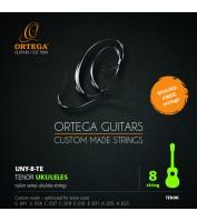 8-keelse tenor ukulele keeled Ortega UNY-8-TE