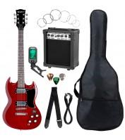 McGrey Rockit Electic Guitar Double Cut