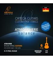 Klassikalise kitarri keeled Ortega ATB44NM (medium)
