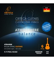 ORTEGA Atmosphere Balance Series Nylon String Set Medium Tension ATB44NM
