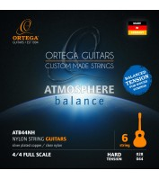 ORTEGA Atmosphere Balance Series Nylon String Set Hard Tension ATB44NH