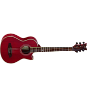 Electro acustic traveler guitar Ortega NL-WALKER-RD