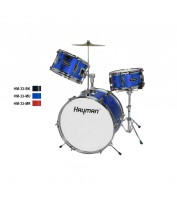 HM-33-MU | Hayman Junior Series 3-piece drum kit