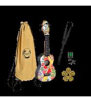 Sopran ukulele komplekt Keiki K2-EM