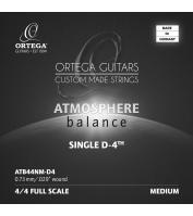 Ortega ATB44NM-D4 Atmosphere Balance seeria üksik keel klassikalisele kitarrile