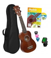 Cascha sopran ukulele komplekt HH 3956 GB