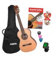 3/4 Klassikalise kitarri komplekt Cascha HH 2140 EN