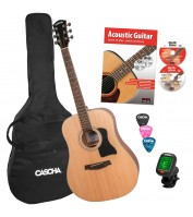 Akustilise kitarri komplekt Cascha HH 2141 EN
