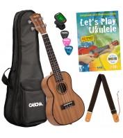 Concert ukulele set Cascha HH 2252