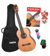 4/4 Classical Guitar Set Cascha HH 2139 EN