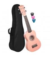 Soprano Ukulele pink Cascha HH 3968