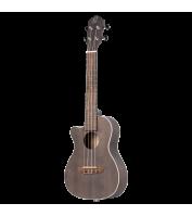 Left-handed concert ukulele Ortega RUCOAL-CE-L