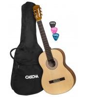 Student Series Classical Guitar 4/4 Set Cascha HH 2137
