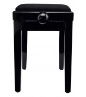 Piano Bench Classic Black