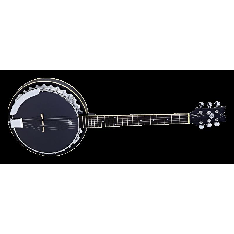 6-keelne bandžo (banjo) Ortega OBJ350/6-SBK