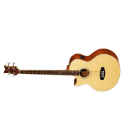 Left-handed Acoustic bass Guitar Ortega D1-4LE