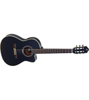 Elektroakustiline 4/4 klassikaline kitarr Ortega RCE138-T4BK