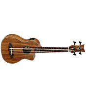 4-keelne elektroakustiline basskitarr Ortega CAIMAN-BS-GB