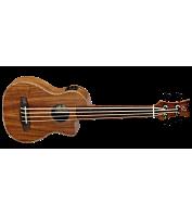 4-keelne elektroakustiline basskitarr Ortega CAIMAN-FL-GB