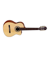 Elektroakustiline klassikaline kitarr Ortega STRIPED SUITE C/E