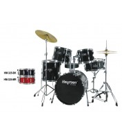 Hayman HM-325-BK Pro Series 5-piece jazz drum kit
