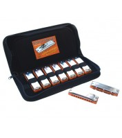Harmonica set C.A. SEYDEL SÖHNE SESSION STEEL 9