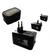 Multi-Plug USB-charger (EU, UK, US) C.A. SEYDEL SÖHNE