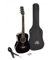 SX acoustic guitar 3/4 scale SM1-34/LBK