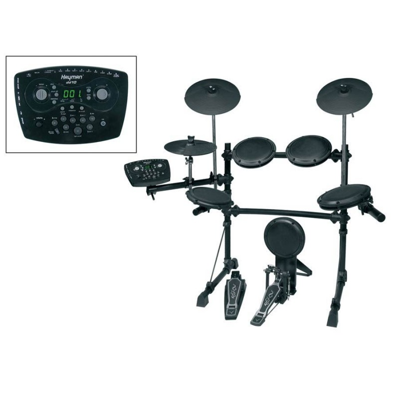 Hayman DD-10 Pro Series digital drum kit