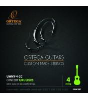 Kontsert ukulele keeled Ortega UWNY-4-CC