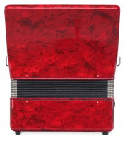 "Classic Cantabile 48 bass accordion ""Secondo III"" red"
