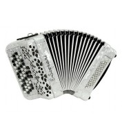 Button accordion E Soprani