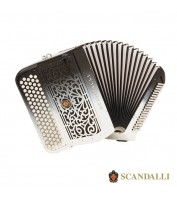 Accordion Scandalli Cromo F