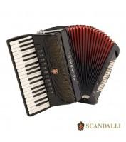 96 bassi akordion Scandalli Air I