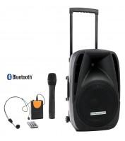 "Pronomic PH12AW battery-powered transportable speaker system 12"""