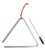 XDrum triangle with mallet 15 cm