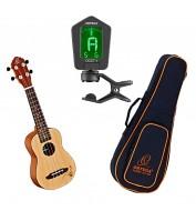 Sopran ukulele komplekt Ortega RU5-SO