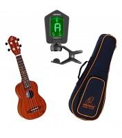 Sopran ukulele komplekt Ortega RU5MM-SO