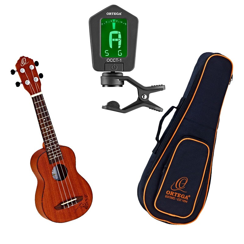 Ukulele Set Ortega RU5MM-SO