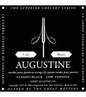 Klassikalise kitarri keelte komplekt Augustine Black AU-CLBK