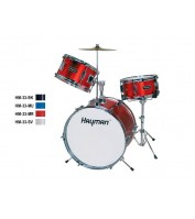 HM-33-BK | Hayman Junior Series 3-piece drum kit