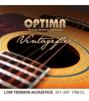 OPTIMA Vintageflex Acoustics Low Tension Custom Light